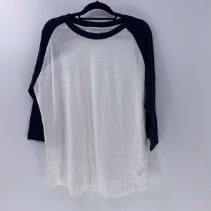 Alternative Apparel mens baseball Tee shirt XXL